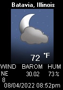 Click Here for Batavia Weather